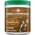 Amazing Grass Green SuperFood Powder, Cacao Chocolate Infusion (8.5 oz)