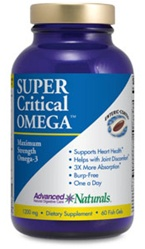 Advanced Naturals Super Critical Omega (60 Fish Gels)