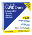 Advanced Naturals Total Body Rapid Detox (3-Part Kit)