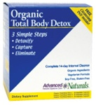 Advanced Naturals Organic Total Body Detox (3-Part Kit)