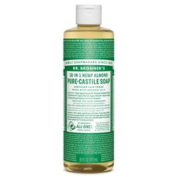 Almond Pure-Castile Liquid Soap, 16oz