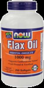 Flax Oil 1000 mg Softgels (250 ct)