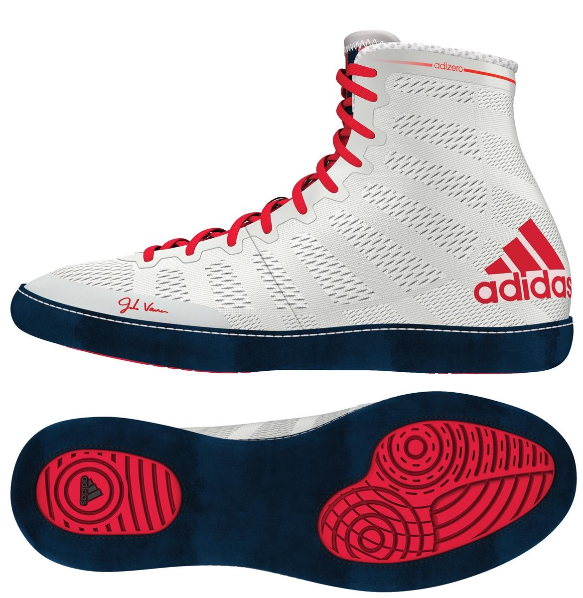 1d3a1be7def Adidas adiZERO Varner Mens Wrestling Shoe