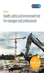 Health, safety and environment test for manager and professionals - DVD