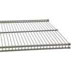 FreedomRail Profile Wire Shelving in white and nickel finish for closets, pantry, office and more.