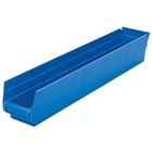 "24 Akro Shelf Bins - 11-5/8""L x 2 3/4""W x 4""H"