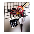 Skate Rack with Basket - Granite