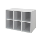 freedomRail grey GO-Box Cubby with Backing