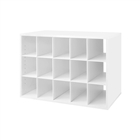 Organized Living freedomRail Big O-Box Shoe Cubby
