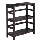 Leo 2-Tier Wide Book Storage Shelf