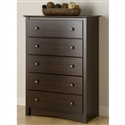 Espresso Fremont 5 Drawer Chest