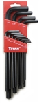 13 pc SAE Long Arm Hex Key Set
