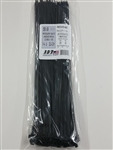 100 50LB 14.6 UV Black Cable Ties