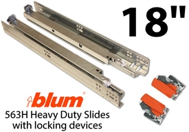 Blum Tandem Plus Blumotion Drawer Guides (pair of slides)