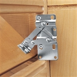 Rev-A-Shelf Sink-Front Tip-Out Tray Hinges - PAIR (Steel)