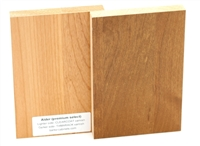 Alder wood sample