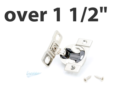 "OVER 1 1/2"" Overlay COMPACT Blum Blumotion Hinge (SOFT CLOSE, screw-on)"