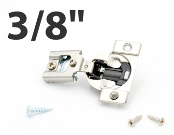 "3/8"" Overlay Blum Blumotion Hinge (SOFT CLOSE, screw-on)"