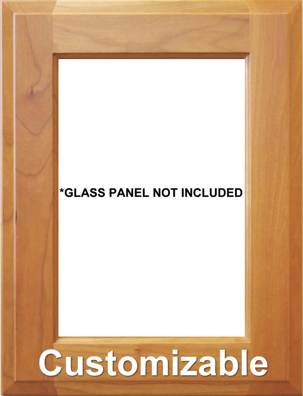 Custom Glass Cabinet Door