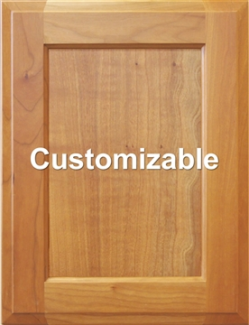 Custom Inset Panel Cabinet Door
