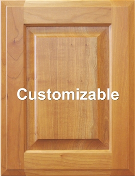 Custom Raised Panel Cabinet Door