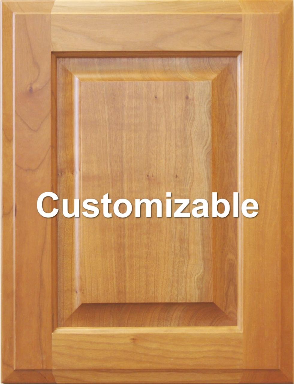 Custom Raised Panel Cabinet Door