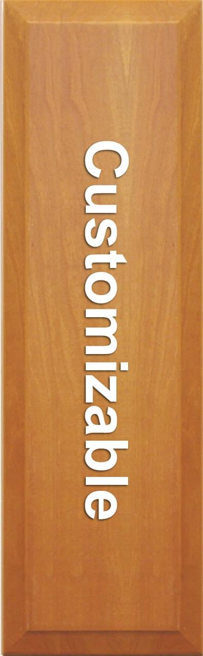 Custom SLAB Cabinet Door