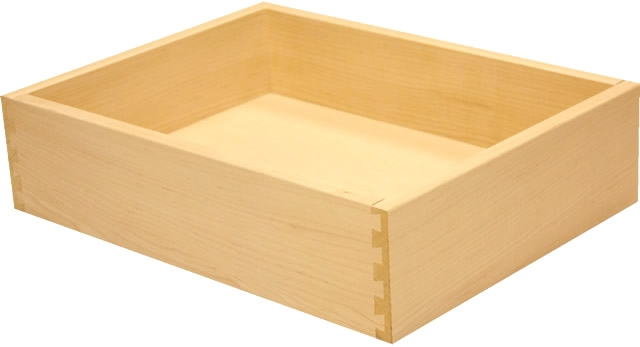 Hard White Maple Dovetail Drawer Box