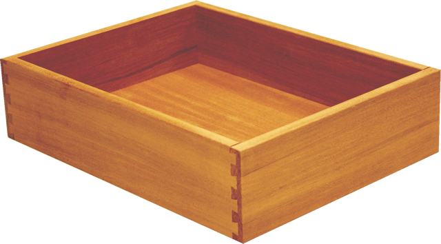 Sapele Dovetail Drawer Box