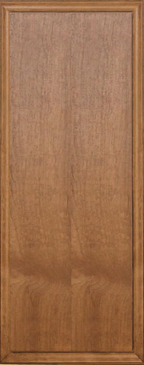 Angeles slab cabinet doors