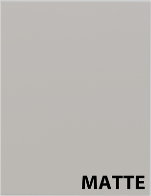 IN STOCK MATTE Light Grey Sample Cabinet Door