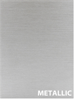 SAMPLE DOOR- METALLIC brushed sample cabinet door (laminate)