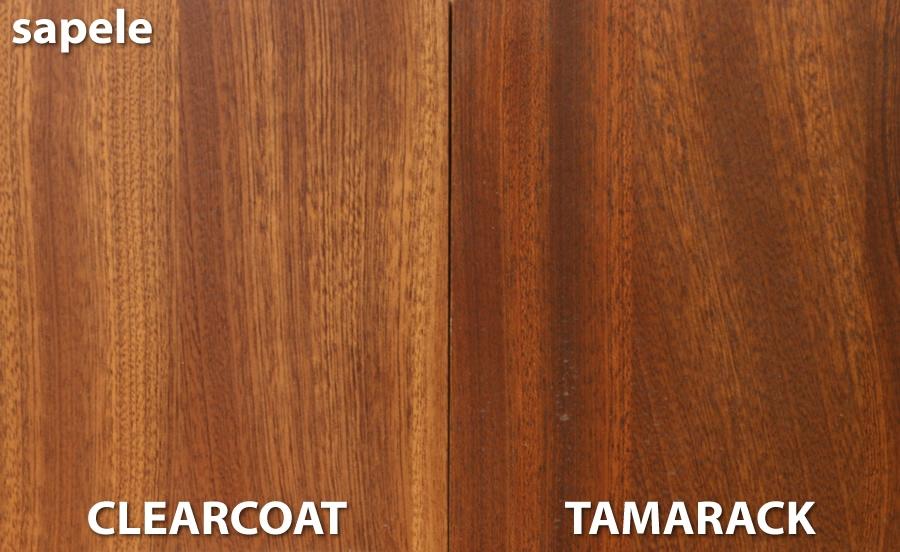 Sapele Wood Sample