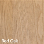 Red Oak Unfinished Wood Veneer 4'X8'