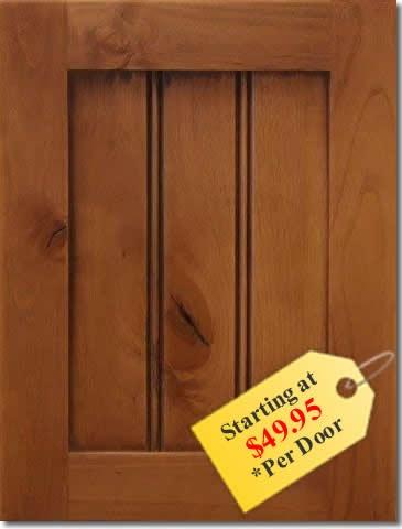 Shaker Beadboard Cabinet Doors & Custom Cabinet Doors