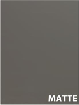 MATTE Dark Grey Cabinet Doors