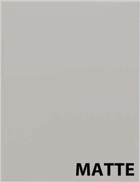 MATTE Light Grey Cabinet Doors