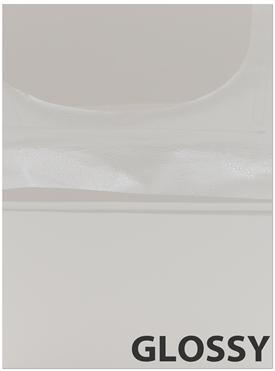 GLOSSY Light Grey Cabinet Doors