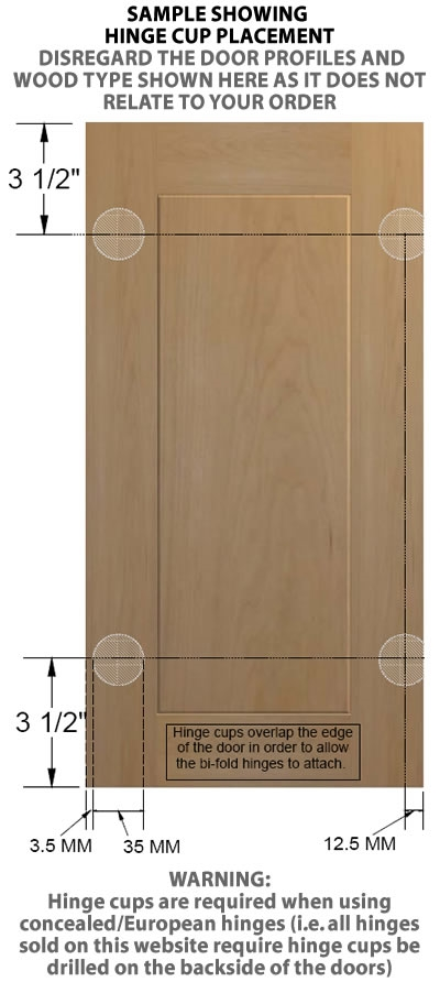 sc 1 st  Barker Door & SEATTLE Raised Panel Cabinet Door
