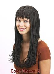Braided Long With Bangs