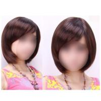 Clip On Bang Fringe Hair Extension