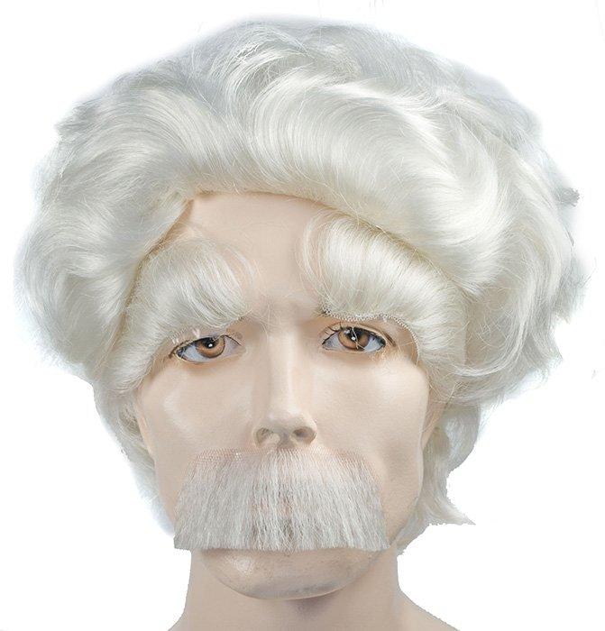 International Wigs®  Albert Einstein Wig. Eyebrows   Moustache Set ... 3045ba5ce38b