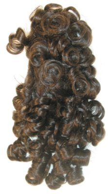 Curly Banana Clip 1734