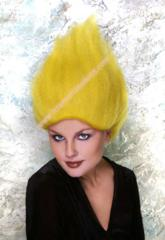 Yellow Treasure Troll Wig