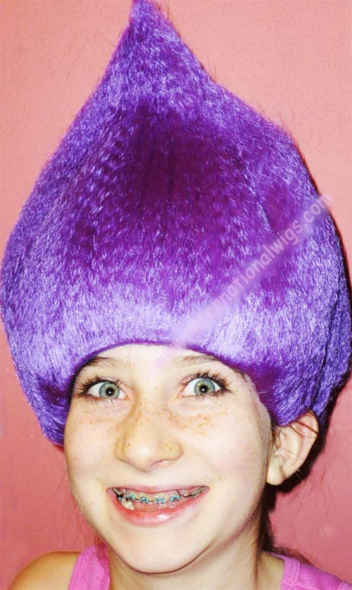 International Wigs®  Kids Troll Wig- Thing 1   Thing 2 Wig by Lacey ed81439d147a