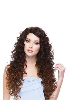 Spring Lacefront Wig In Off Black