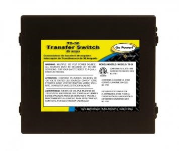 Go Power -30 amp Transfer Switch