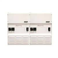 Magnum Energy - MPDH250PE Magnum Panel Dual Enclosure High Capacity Dual 30 AAC bypass/input breakers