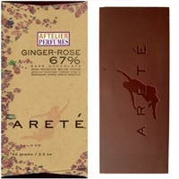 Areté Ginger-Rose Chocolate Bar
