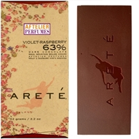 Areté Violet-Raspberry Chocolate Bar